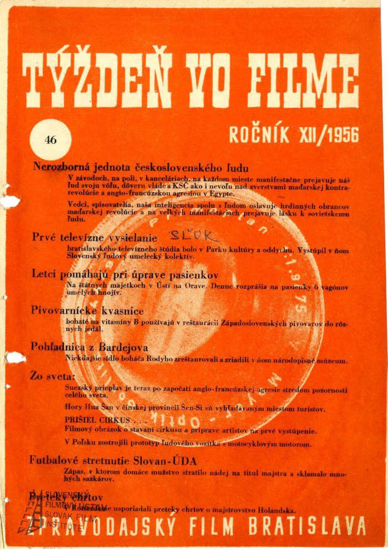 Týždeň vo filme 46/1956