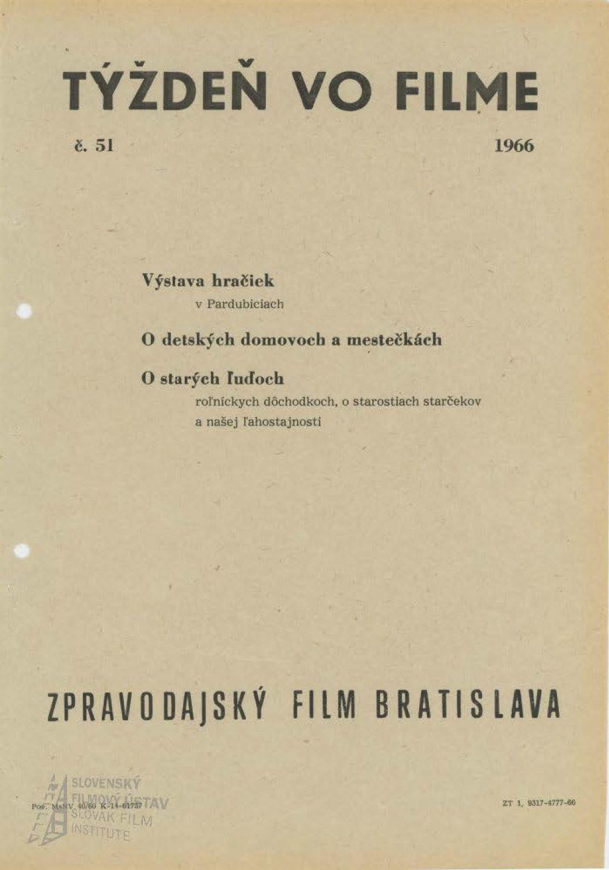 Týždeň vo filme 51/1966