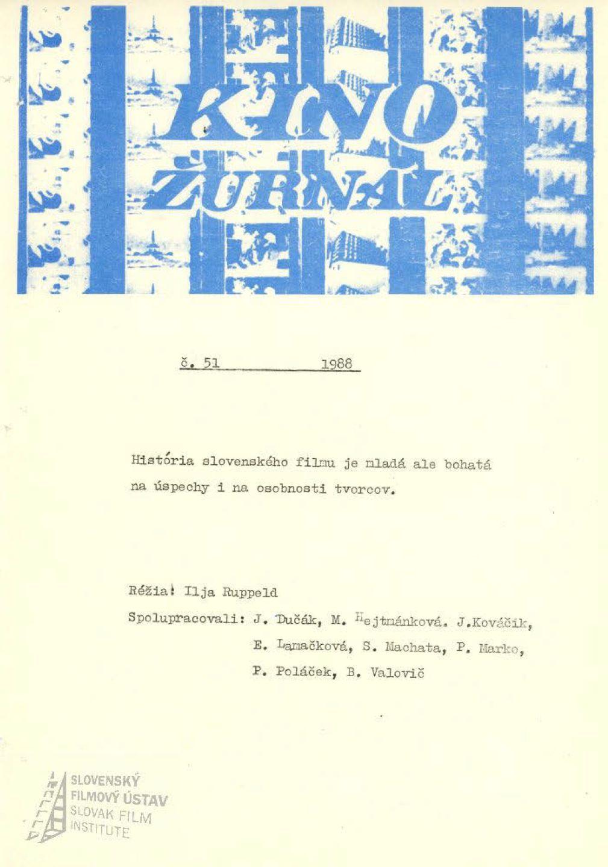 Kinožurnál 51/1988