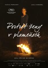 Portrét ženy v plameňoch